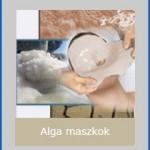 Peel-off Alga maszkok