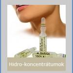 Hidro-Koncentrátomok / Bőráoló Ampullák