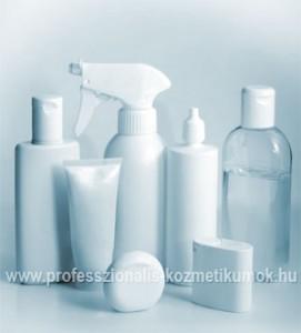 Kozmetikai termék kiszerelése